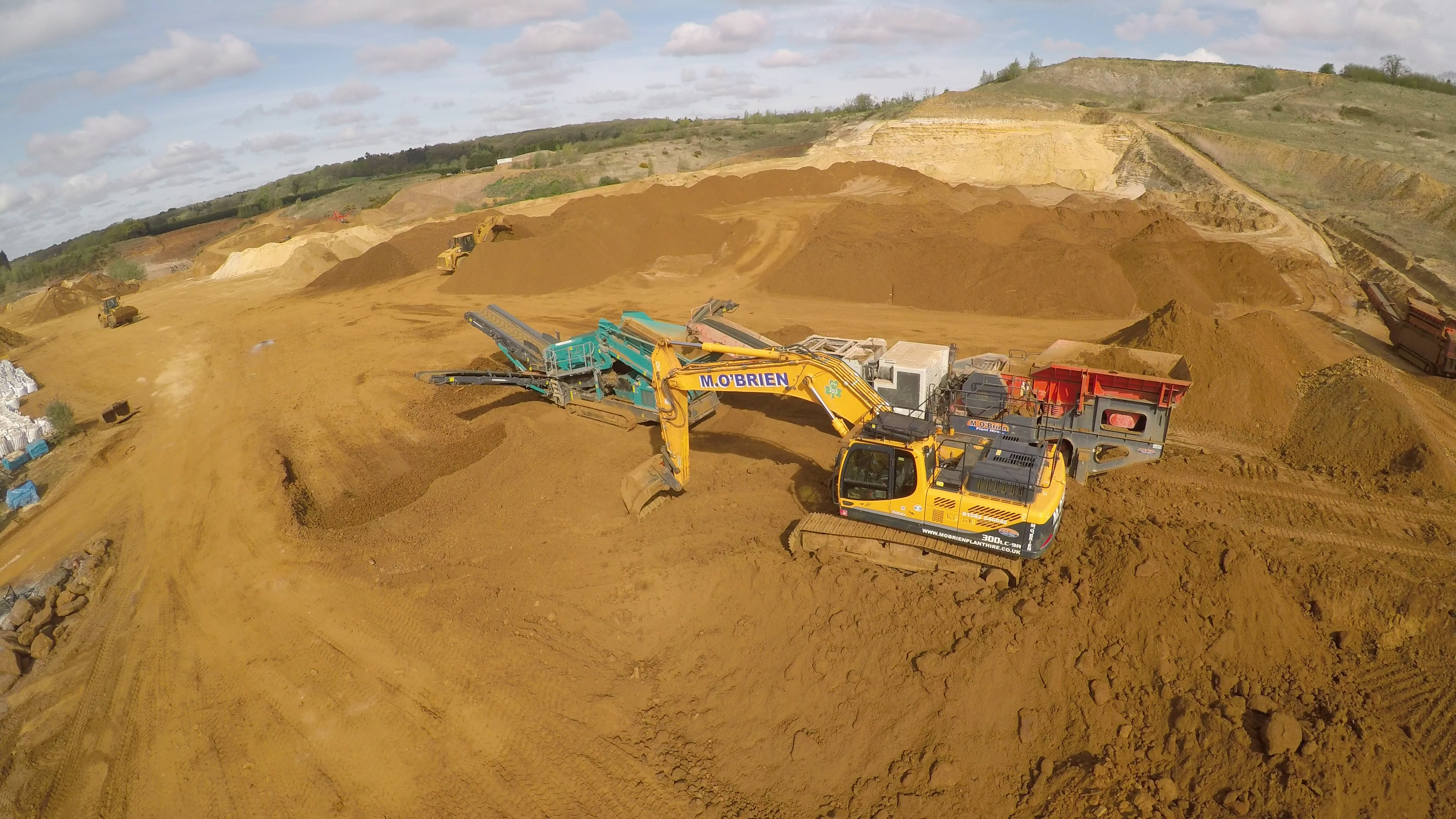 sand and aggregate supply