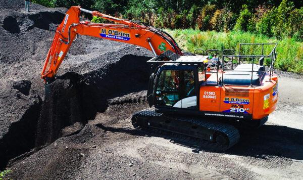 20 t tier 4 excavator