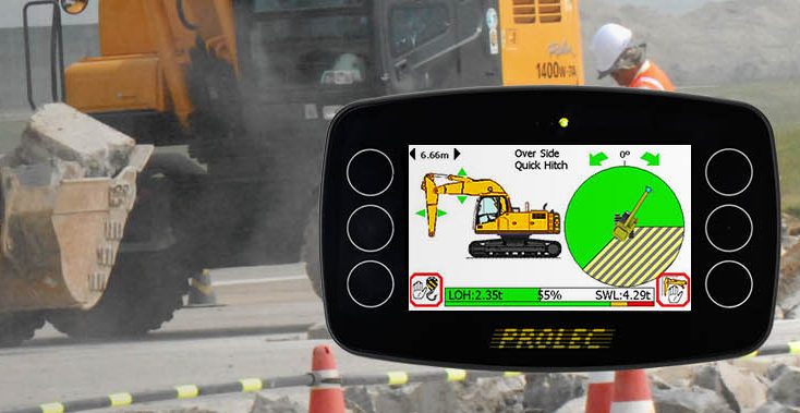 Safe Load Indicator Systems : Prolec pro visual safe load indicator with built in height